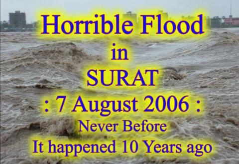Surat Flood 7th August 2016
