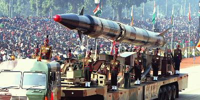 Collection of Missiles Bharat (India) has